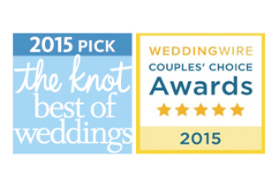 Tobin Photography…winner of The Knot Best of Weddings and WeddingWire Couples Choice for 2015!
